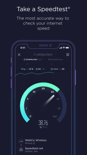 Speedtest by Ookla 0